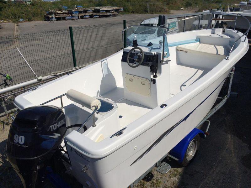 aquamar aquafish 550   bateau moteur d u0026 39 occasion