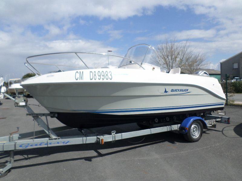 quicksilver commander 525 bateau moteur d 39 occasion lemerle bateaux. Black Bedroom Furniture Sets. Home Design Ideas